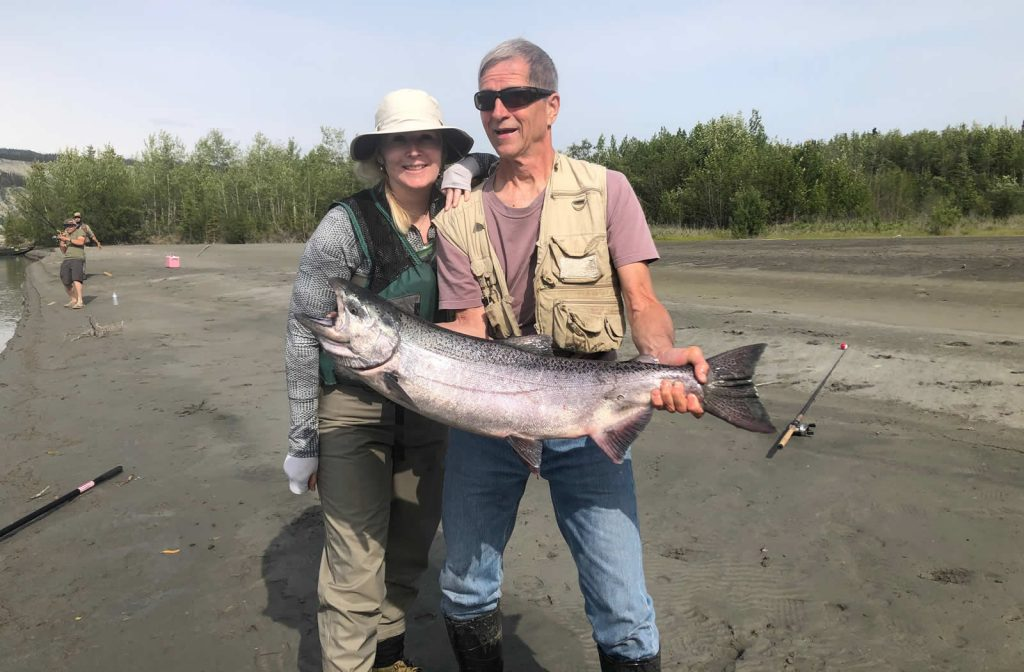 King Salmon fishing with Fishing Bug Charters.